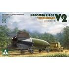 TAKOM . TAO 1/35 V-2 Rocket Vidalwagen Hanomag SS100