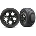 Traxxas Corp . TRA Traxxas Tires & wheels, assembled, glued