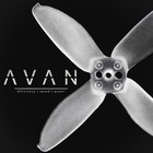 EMAX . EMX AVAN 2 INCH PROPS - 6 PAIRS CLEAR