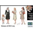 Masterbox Models . MTB 1/35 WWII CIVILIAN WOMEN(5)