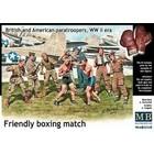 Masterbox Models . MTB 1/35 WWII BRIT & AMER PARATROO