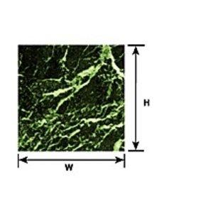 Plastruct . PLS MARBLE SHEET GREEN 1/12