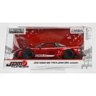 """Jada Toys . JAD JDM Tuners Metals Die Cast"""" 1/24 2002 Honda NSX Type R - Candy Red"""