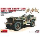 Miniart . MNA 1/35 BRITISH BANTAM 40BRC STAFF CAR W/CREW