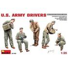 Miniart . MNA 1/35 WWII US ARMY DRIVER