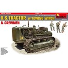 Miniart . MNA 1/35 U.S. Tractor With Towing Winch And Crew