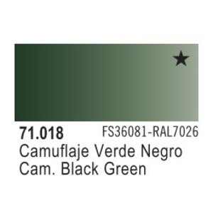 Vallejo Paints . VLJ CAMOUFLAGE BLACK  GREEN