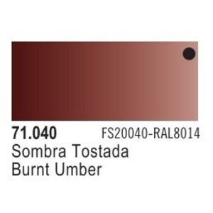 Vallejo Paints . VLJ BURNT UMBER