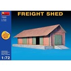Miniart . MNA 1/35 FREIGHT SHED