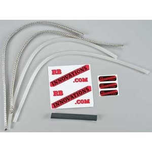 RB Innovations . RBI BRAIDED FUEL LINE KIT