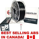Filaments ca . FIL BLACK 1.75MM ABS FILAMENT 1KG
