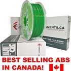 Filaments ca . FIL DARK GREEN 1.75MM ABS FILAMENT 1KG
