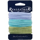 Silver Creek Crafts . SCC Sof-Suede Lace Light Blue, Aqua & kiwi