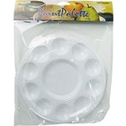 Pro Art . PAT 10 WELL ROUND PALETTE TRAY W/COVER
