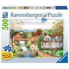 Ravensburger (fx shmidt) . RVB Fishing Lesson 500Pc Large Format