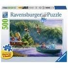 Ravensburger (fx shmidt) . RVB Weekend Escape 500 LRG Pc Puzzle