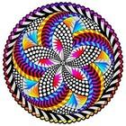 Stuff To Color . SFC Velvet Mandala Spinner Die Cut