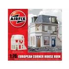 Airfix . ARX 1/76 EUROPEAN RUINED CORNER HOUSE
