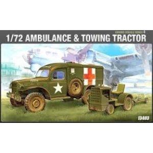 Academy Models . ACY 1/72 US Ambulance & Truck