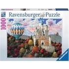 Ravensburger (fx shmidt) . RVB Neushwanstein Daydream 1000pc Puzzle