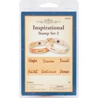 Silver Creek Crafts . SCC INSPIRATIONAL STAMP SET 2