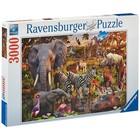Ravensburger (fx shmidt) . RVB African Animal 3000Pc