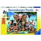 Ravensburger (fx shmidt) . RVB African Friends 300Pc