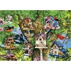 Ravensburger (fx shmidt) . RVB Bird Village 1000Pc Puzzle