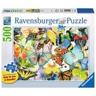 Ravensburger (fx shmidt) . RVB Butterflies 500Pc Puzzle