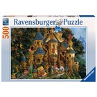 Ravensburger (fx shmidt) . RVB College Of Magical Knowledge  500Pc Puzzle