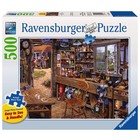 Ravensburger (fx shmidt) . RVB Dad's Shed 500Pc Puzzle
