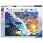 Ravensburger (fx shmidt) . RVB Dancing Dolphins 1000Pc Puzzle