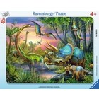 Ravensburger (fx shmidt) . RVB Dinosaur At Dawn 45Pc Puzzle