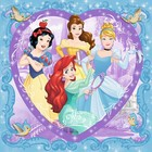 Ravensburger (fx shmidt) . RVB Disney Princess 150Pc Heart Shaped Puzzle