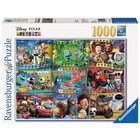Ravensburger (fx shmidt) . RVB Disney Pixar Movies 1000Pc Puzzle