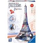 Ravensburger (fx shmidt) . RVB Eiffle Tower 3D 216Pc Flag Edition Puzzle