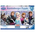Ravensburger (fx shmidt) . RVB Frozen Friends 200Pc Panoramic Puzzle