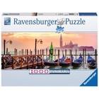 Ravensburger (fx shmidt) . RVB Gondolas In Venice 1000Pc Puzzle