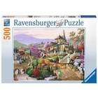 Ravensburger (fx shmidt) . RVB Hillside Retreat 500Pc Puzzle