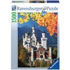 Ravensburger (fx shmidt) . RVB Neuschwanstein in Autumn 1500Pc Puzzle