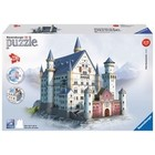 Ravensburger (fx shmidt) . RVB Neuschwanstein Castel 3D 216Pc Puzzle