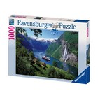 Ravensburger (fx shmidt) . RVB Norwegian Fjord 1000Pc Puzzle