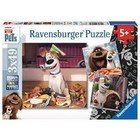 Ravensburger (fx shmidt) . RVB Secret Life Of Pets 3 X 49Pc  Puzzles