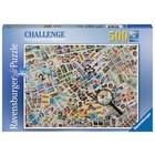 Ravensburger (fx shmidt) . RVB Stamps Challenge 500Pc Puzzle