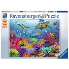 Ravensburger (fx shmidt) . RVB Tropical Waters 500Pc Puzzles