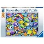 Ravensburger (fx shmidt) . RVB Tropical Traffic 500Pc Puzzle