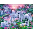 Ravensburger (fx shmidt) . RVB Unicorns In Sunset 150Pc Puzzle