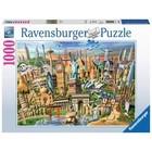 Ravensburger (fx shmidt) . RVB World Landmarks 1000 Pc Puzzle