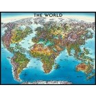 Ravensburger (fx shmidt) . RVB World Map 2000Pc Puzzle