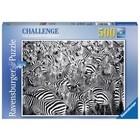 Ravensburger (fx shmidt) . RVB Zebra Challenge 500Pc Puzzle